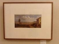 John Glover - Hobart Town - taken from the garden where I lived 1832