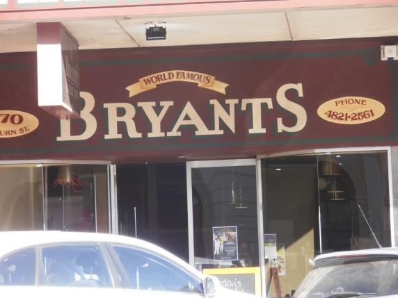 Prendergast family tradition - Bryants pie shop, Goulburn