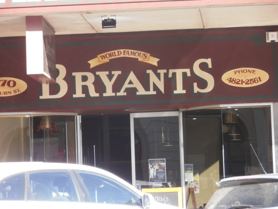 Prendergast family tradition - Bryants pie shop, Goulburn