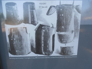 Ned Kelly's suit of armour