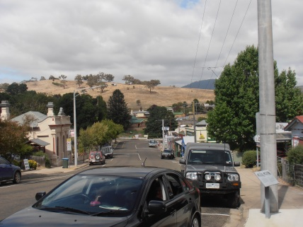 Part of Omeo Main Street