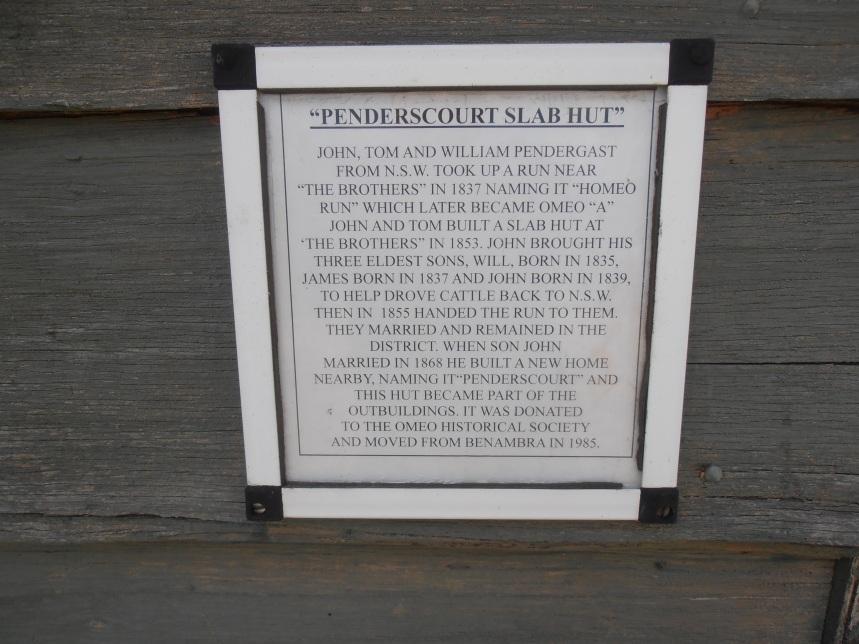 Penders Court Slab Hut