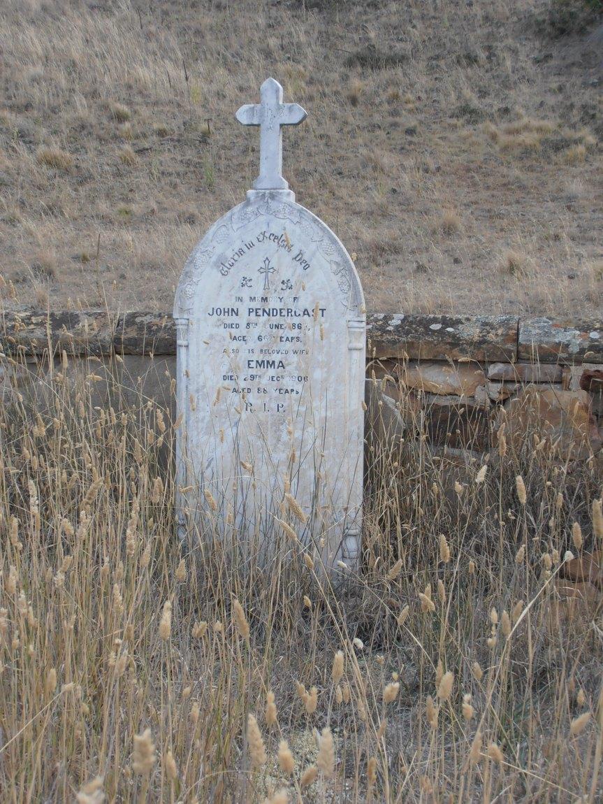 John Pendergast/Prendergast Jnr Grave