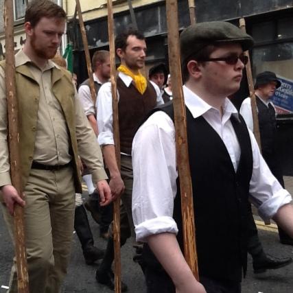 Pikemen Enniscorthy Street battle